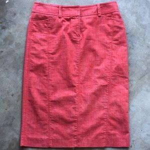 J. Crew - Red Skirt